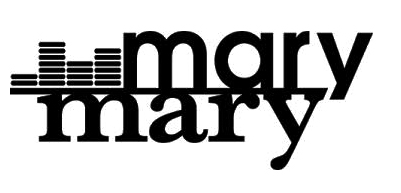 Mary Mary Logo White background